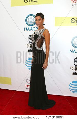 LOS ANGELES - FEB 11:  Nicole Murphy at the 48th NAACP Image Awards Arrivals at Pasadena Conference Center on February 11, 2017 in Pasadena, CA