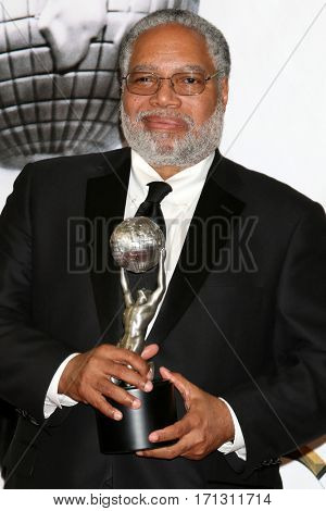 LOS ANGELES - FEB 11:  Lonnie Bunch at the 48th NAACP Image Awards Press Room at Pasadena Conference Center on February 11, 2017 in Pasadena, CA