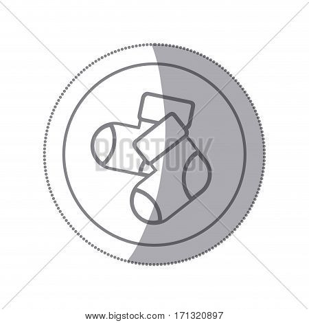 baby socks icon image design, vectores illustration