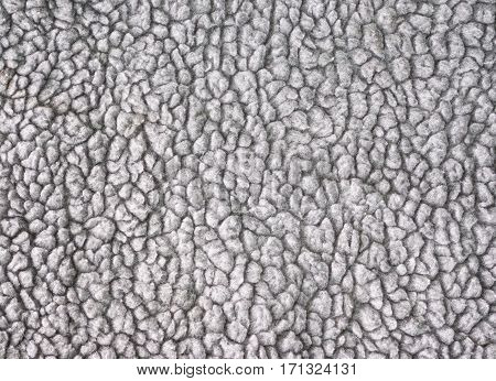Close up of old and dirty grey carpet texture