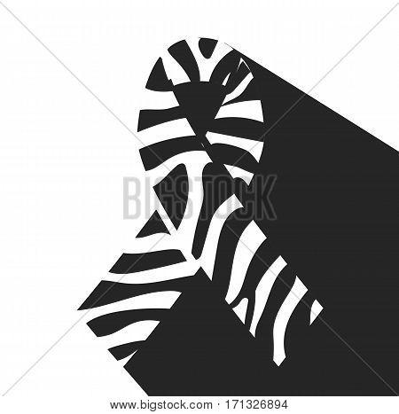 Zebra-print Ribbon