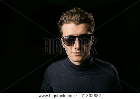 Smart Guy With Sunglasses