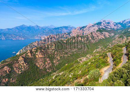 Mediterranean Island Corsica