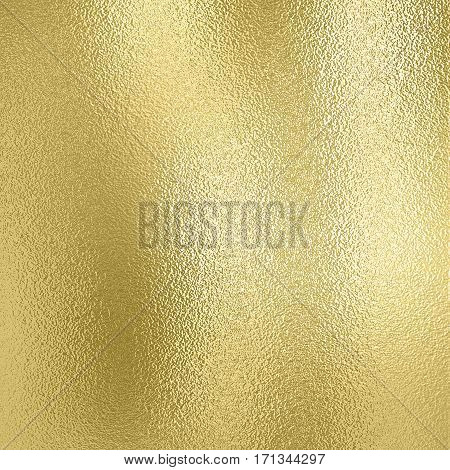 Shiny Gold foil background of golden metal decorative texture