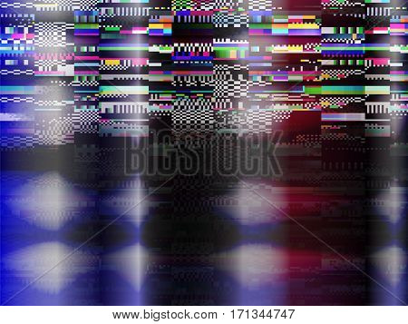 Glitch Computer Screen Fail Data Error Tv Signal Error 3