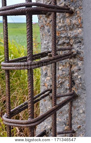 Concrete Reinforcing Mesh Structure