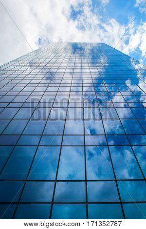 Modern business skyscraper