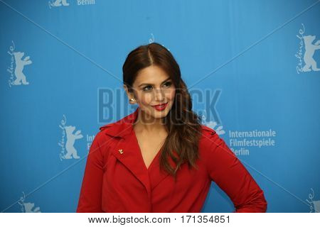 Huma Qureshi attends the 'Viceroy's House' photo call during the 67th Berlinale International Film Festival Berlin at Grand Hyatt Hotel on February 12, 2017 in Berlin, Germany.