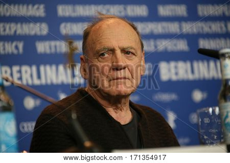 Actor Bruno Ganz attends the 'The Party' press conference during the 67th Berlinale International Film Festival Berlin at Grand Hyatt Hotel on February 13, 2017 in Berlin, Germany