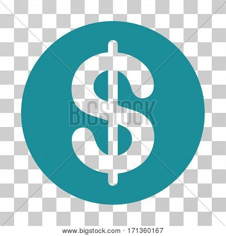 Money icon. Vector illustration style is flat iconic symbol soft blue color transparent background. Designed for web and software interfaces.