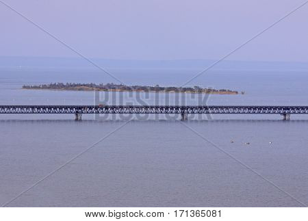 The President Bridge In Ulyanovsk
