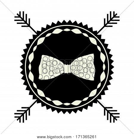 symbol bow icon stock, vector illustration design
