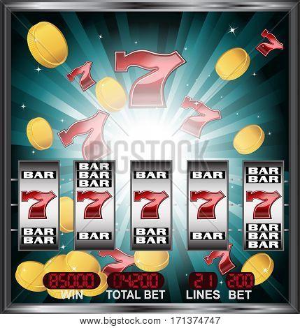 big win on slot machine