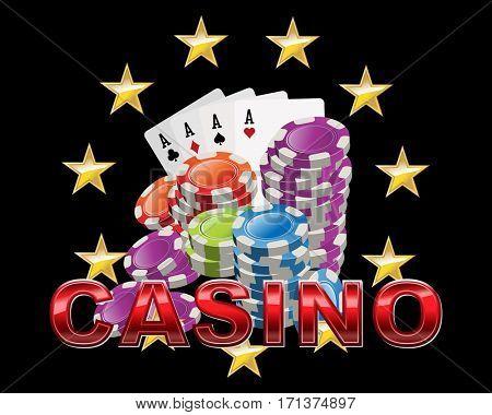 Casino icon logo