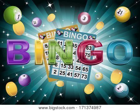 Jackpot on bingo game