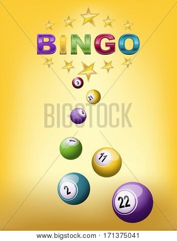 Bingo falling balls