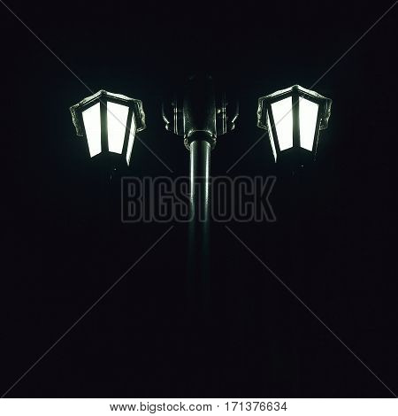 Details Of Street Lamp