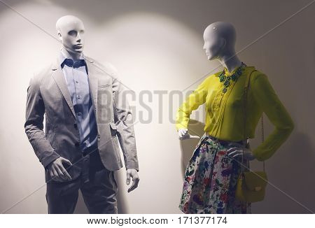 Man And Woman Dolls
