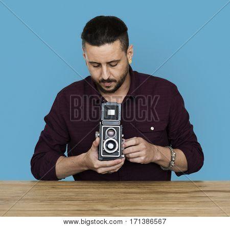Studio Shoot People Portrait Gesture