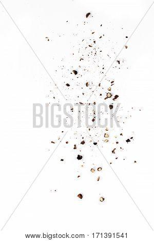 Sifting Black Pepper