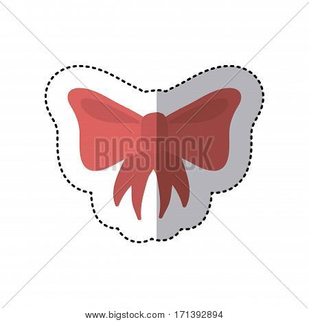 bow icon stock image, vector illustration design