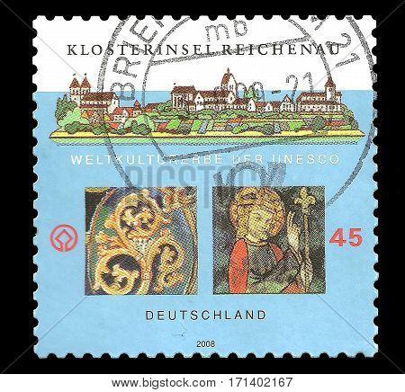 Postage Stamp : Germany 2008 Weltkulturerbe der Unesco - Klosterinsel Reichenau