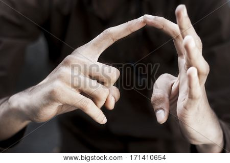 British Sign Language [BSL]   is the predominant sign language of Deaf communities in the United States and most of anglophone Canada.