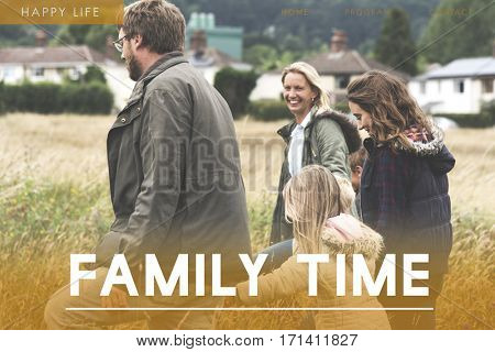Family Happiness Togetherness Bonding Icon
