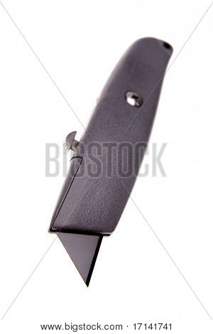 Knife isolated over white