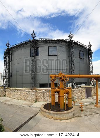 Gas Tower Holder Conversion in Office Space