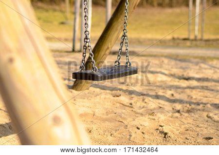 Swing Seat In Park