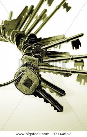 Keys on keyring