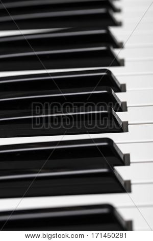 Piano Keys. Cool Illustration For Creative Design