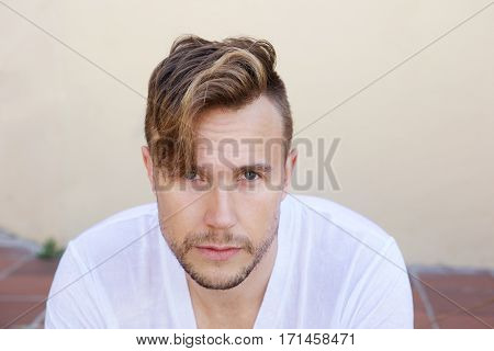 Cool Young Guy Staring
