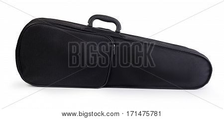 the Violin Case isolated on white background