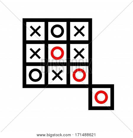 extra box tic tac toe board game