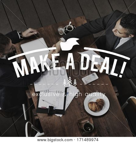 Contract Agreement Negotiation Make a Deal