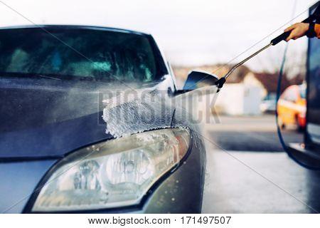 Giving The Car A Good Car Wash!