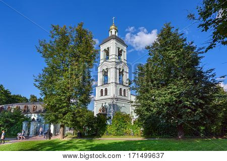 MOSCOW/ RUSSIA - AUGUST 25. Church of the blessed virgin