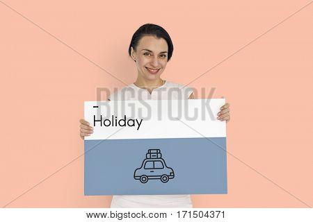 Adventure Bon Voyage Destination Icon