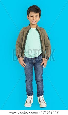 Kid Pose Standing Studio Concept