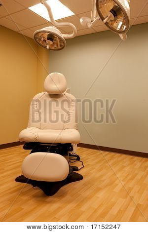 Typical Out Patient Medical Procedure Room