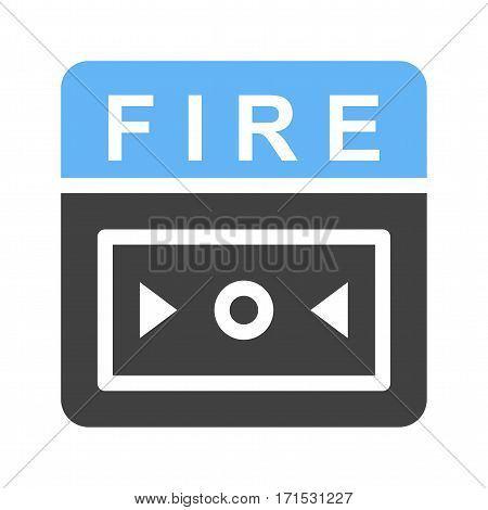 Alarm, fire, safety icon vector image. Can also be used for firefighting. Suitable for use on web apps, mobile apps and print media.