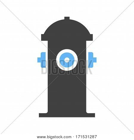 Hydrant, fire, red icon vector image. Can also be used for firefighting. Suitable for mobile apps, web apps and print media.