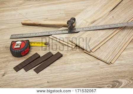Laminate Oak Styles And Tools