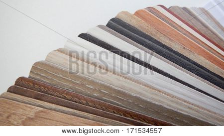 Variety Of Small Wooden Boards As A Samples