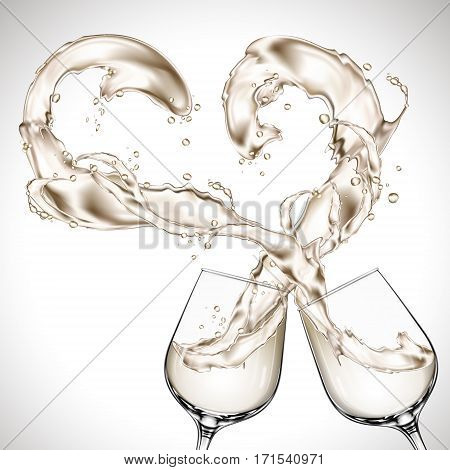 Wine Glasses Clash