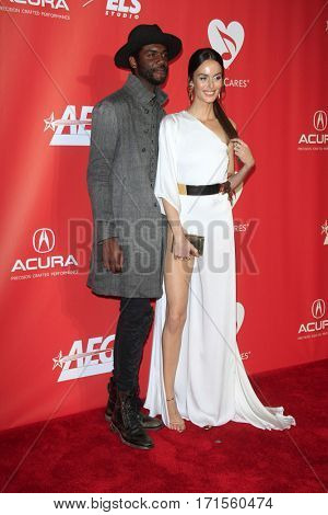LOS ANGELES - FEB 10:  Gary Clark Jr., Nicole Trunfio at the Musicares Person of the Year honoring Tom Petty at Los Angeles Convention Center on February 10, 2017 in Los Angeles, CA