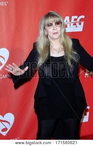 LOS ANGELES - FEB 10:  Stevie Nicks at the Musicares Person of the Year honoring Tom Petty at Los Angeles Convention Center on February 10, 2017 in Los Angeles, CA
