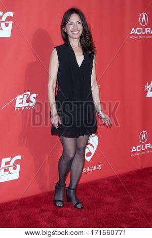 LOS ANGELES - FEB 10:  Susanna Hoffs at the Musicares Person of the Year honoring Tom Petty at Los Angeles Convention Center on February 10, 2017 in Los Angeles, CA